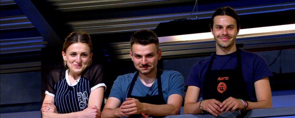 Masterchef 7, undicesima puntata: vanno in finale Alberto, Simone e Kateryna