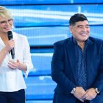 Amici 17 terzo serale, Belen Rodriguez seduce Maradona e l'addio a Marco Garofalo