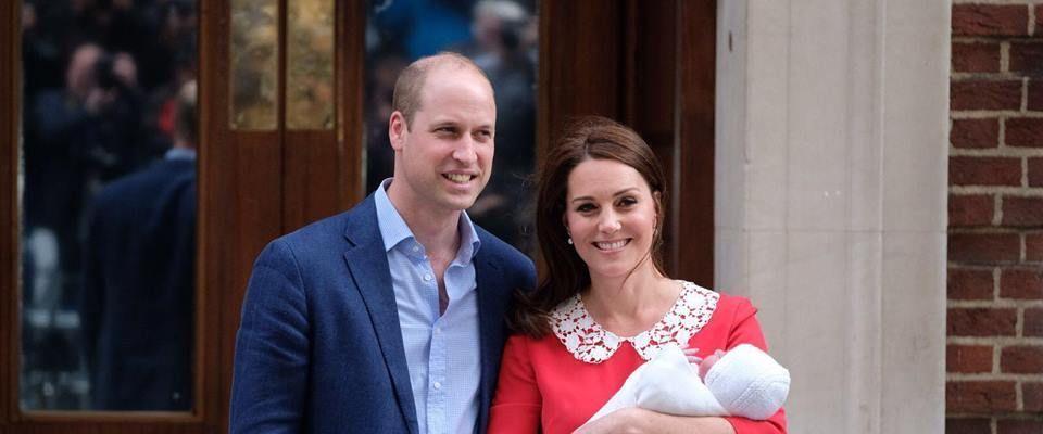 William e Kate, svelato il nome del terzo Royal Baby: Louis Arthur Charles