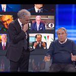 Non è l'arena, Emilio Fede da Giletti: qualcosa è cambiato