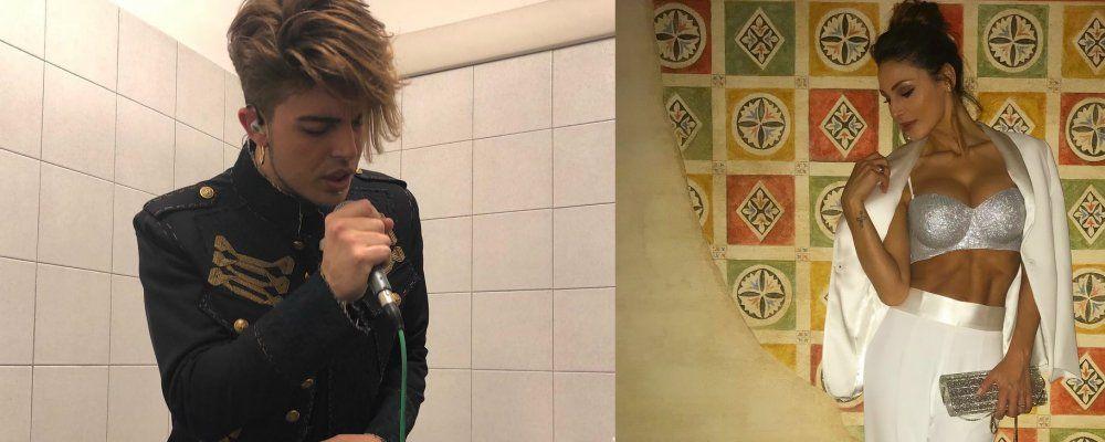 Anna Tatangelo e Stash dei The Kolors, notte a Milano l'indiscrezione
