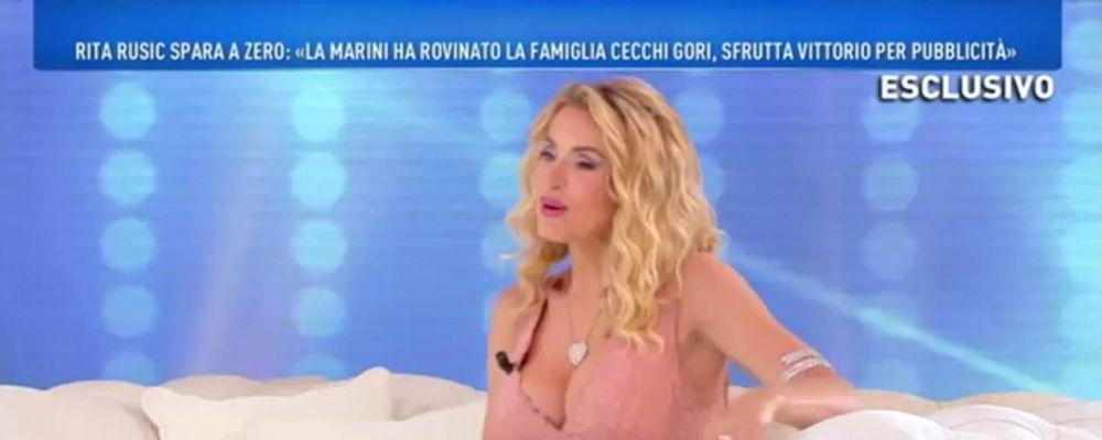 Domenica Live, Valeria Marini sulle accuse di Rita Rusic: 'Tutte bugie'