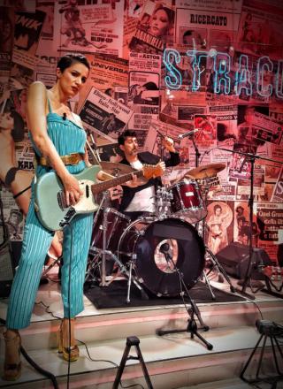 Stracult Live Show, ultima puntata: le foto ricordo di Andrea Delogu