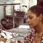 Georgette Polizzi in permesso dall'ospedale torna a usare le mani