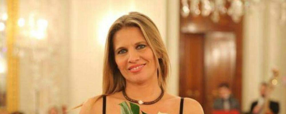 Laura Freddi, primo compleanno da mamma