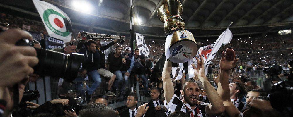 Ascolti tv, la finale di Coppa Italia sfiora il 40%