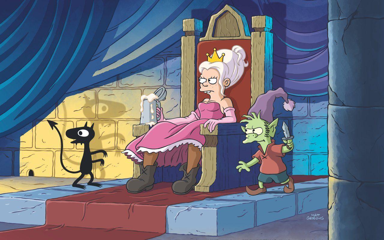 Disenchantment, su Netflix la nuova serie di Matt Groening papà dei Simpson
