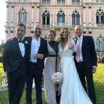 #danieleandfilippa, le foto del matrimonio di Daniele Bossari e Filippa Lagerback