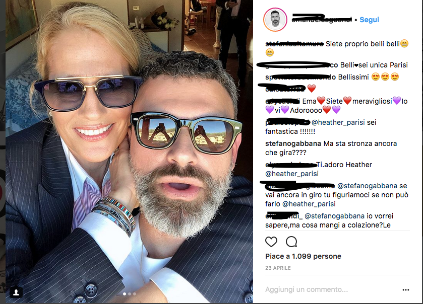 Heather Parisi risponde a Gabbana: scontro tra i due