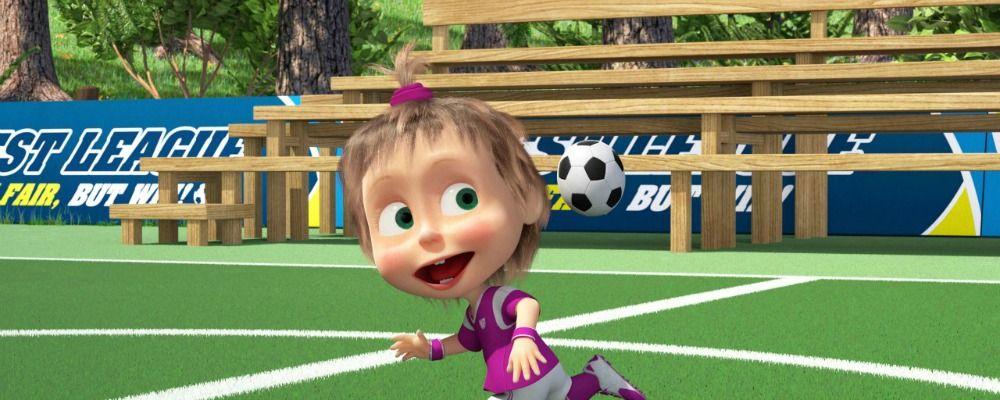 Masha e Orso nuovi episodi per i Mondiali di Russia 2018