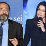 Massimo Bernardini critica Laura Pausini, lei replica: 'Che vergogna'