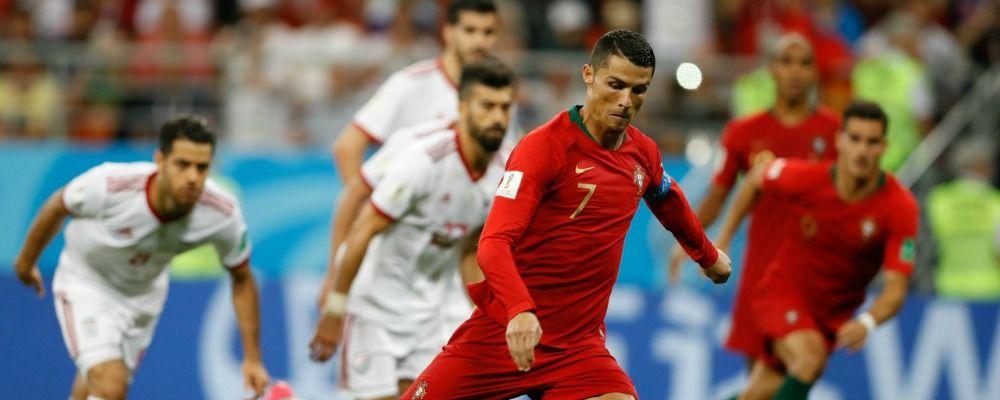 Ascolti tv, 5.8 milioni di telespettatori per Iran - Portogallo