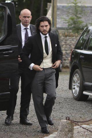 Matrimonio il Trono di Spade, Kit Harington e Rose Leslie: le foto delle nozze tra Jon Snow e Ygritte
