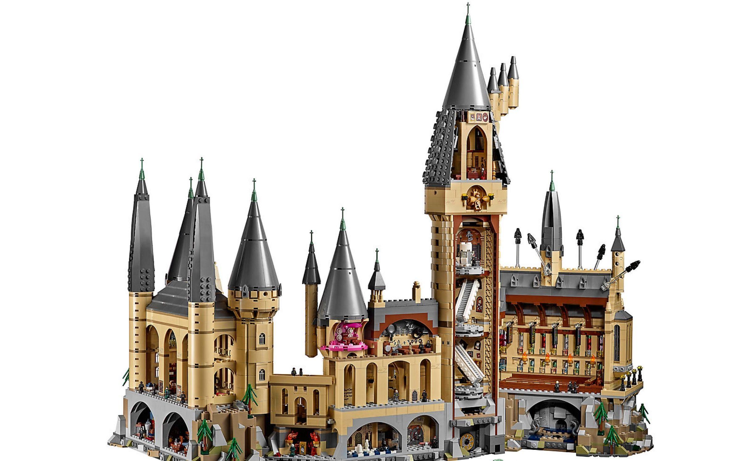 Lego harry potter in vendita il castello di hogwarts for Mobili harry potter