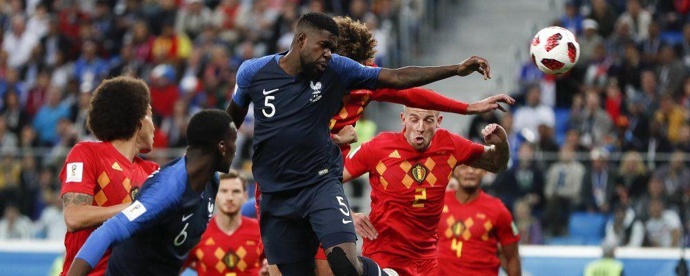 Ascolti tv, il trionfo di Francia - Belgio con 10 milioni di telespettatori