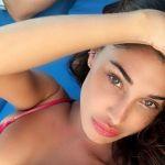 Belen Rodriguez regina di Ibiza per il compleanno di Andrea Iannone