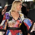 Katherine Kelly Lang, la Brooke di Beautiful a lavoro in Italia