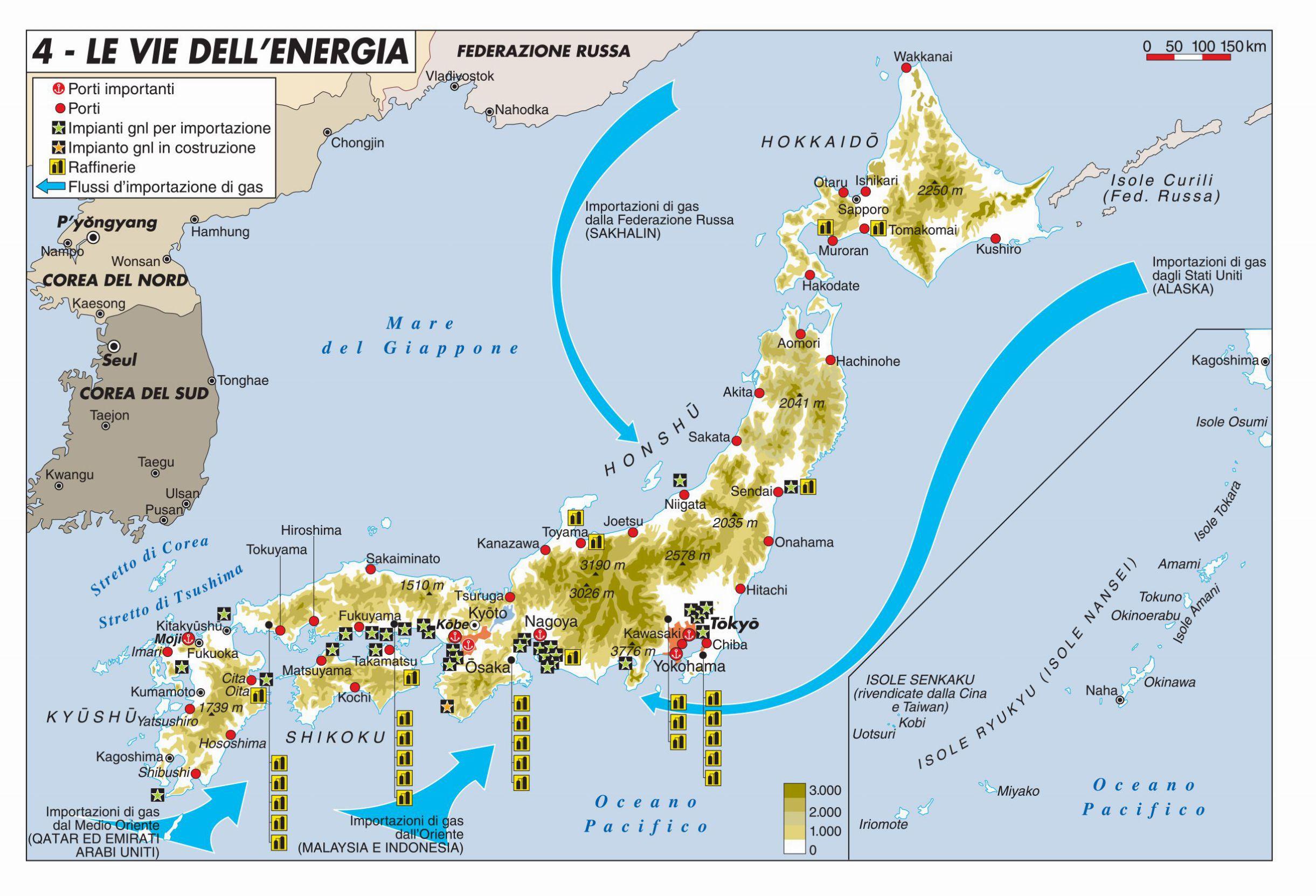 Cartina Economica Giappone.Le Vie Dell Energia Limes