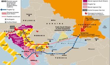 Il salto triplo del South Stream