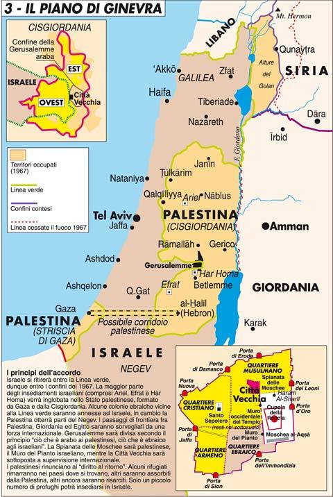 Cartina Israele E Palestina.Israeliani E Palestinesi Sono Condannati A Parlarsi Limes