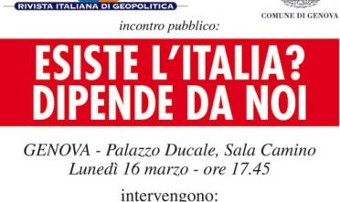 Esiste l'Italia?: presentazione a Genova
