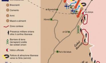 Libano-Siria, il confine che non c'è (2)