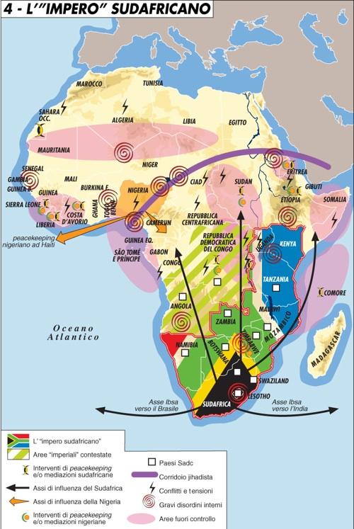 L'impero sudafricano
