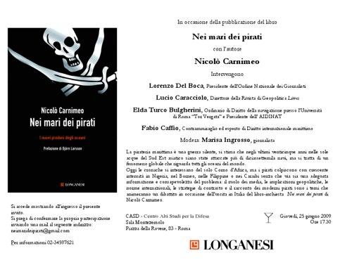 Roma: Nei mari dei pirati