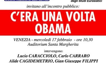 Venezia: C'era una volta Obama