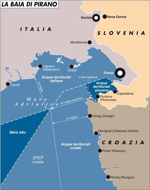 Slovenia e Croazia: il confine sarà netto