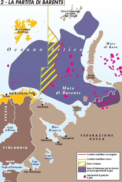 Mosca e Oslo finalmente divise