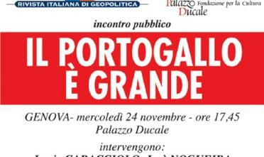 Genova: Il Portogallo è grande