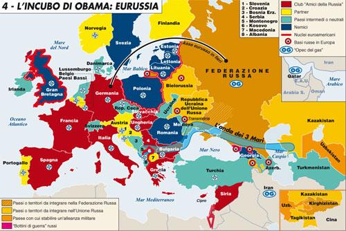 Putin rilancia Eurussia