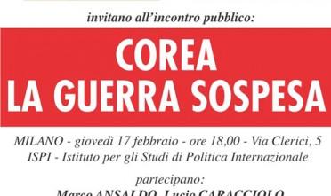 Milano: Corea, la guerra sospesa