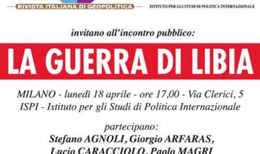 Milano: La guerra di Libia