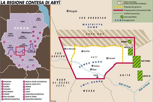 La guerra in Sudan si sposta in Abyei