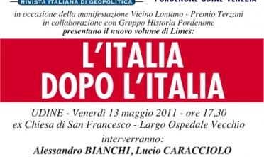 Udine: L'Italia dopo l'Italia