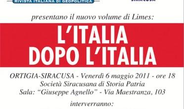 Siracusa: L'Italia dopo l'Italia