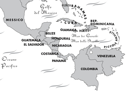 Stati America Centrale Cartina.In Honduras E Tornato Manuel Zelaya Limes