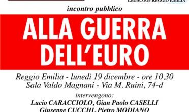 Reggio Emilia: Alla guerra dell'euro