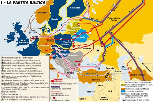 Il risiko energetico dei paesi baltici