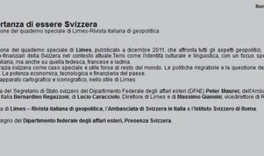 Roma: L'importanza di essere Svizzera