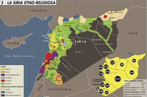 Siria e osservatori arabi: luci e ombre del rapporto Dabi