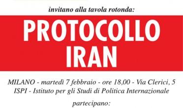 Milano: Protocollo Iran