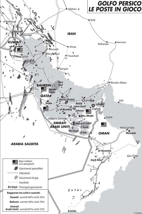 Qatar e Arabia Saudita guidano la riscossa sunnita