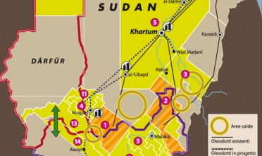 Oltre al petrolio, i due Sudan si contendono la Cina