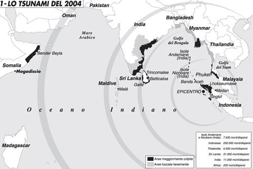 Carta: Lo tsunami del 2004