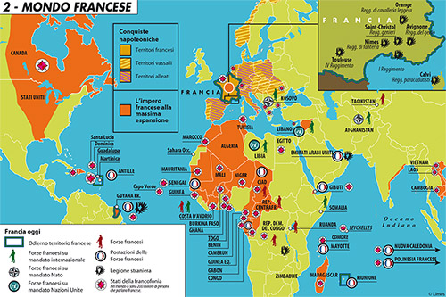 La Francia Senza Europa Le Carte A Colori Del Volume Limes