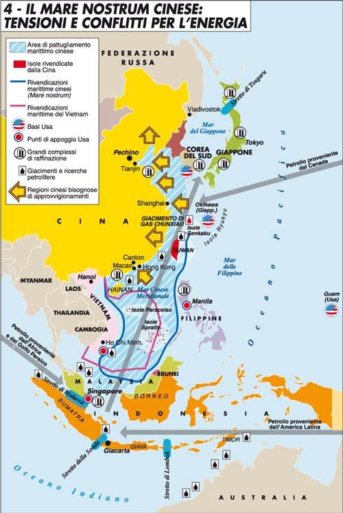 La Cina vince la battaglia (ma non la guerra) del Mar Cinese