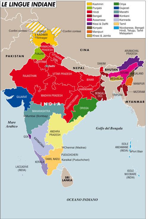 Cartina Climatica India.India Il Rischio Di Una Promessa Tradita Limes